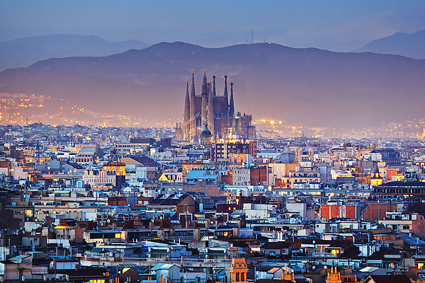 Barcelona Panoramic City Tour and winery visit