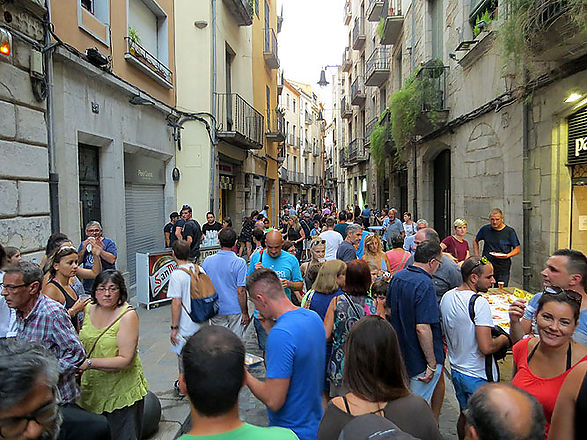 Save the Date: Cuina al Carrer Festival in the Old Center of Girona on August 27th!
